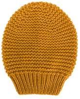 Fabiana Filippi Women's Yellow Wool Hat.
