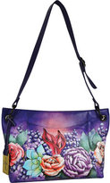 Anuschka Women's Medium Hobo with Front Pocket