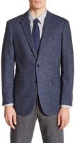 U.S. Polo Assn. Blue Birdseye Two Button Notch Lapel Jacket