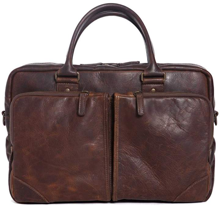 "Moore & Giles Fine Leather Commuter Bag ""Haythe"""