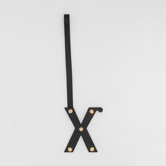 Burberry 'X' Studded Leather Alphabet Charm
