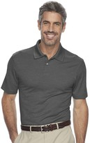 Haggar Men's Classic-Fit Textured Performance Polo