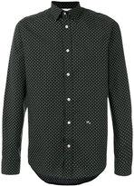 Diesel cross detail printed shirt
