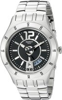 Swatch S Men's YTS403G Quartz Dial Date Stainless Steel Dial Watch