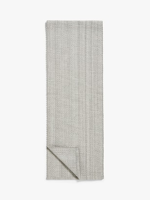 John Lewis & Partners Cotton Table Runner, L182cm, Grey