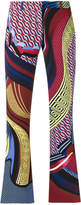 Versace patterned trousers