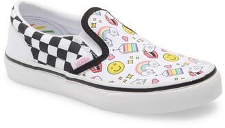 Vans x FLOUR SHOP Kids' Classic Slip-On Sneaker