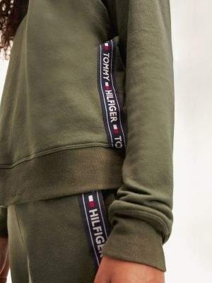 Tommy Hilfiger Crew Neck Logo Tape Sweatshirt