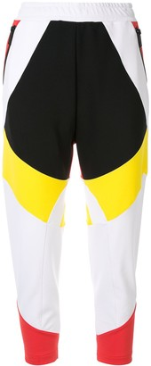 DSQUARED2 colour block track trousers
