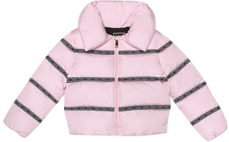 Versace Kids Quilted down jacket