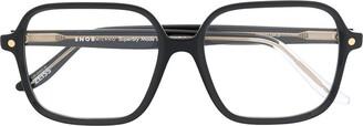 S'nob Franca square-frame glasses