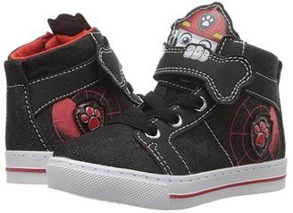 Josmo Kids Paw Patrol High Top Sneaker (Toddler/Little Kid) (Black) Boy's Shoes