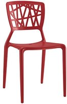 Modway Astro Dining Side Chair, Red