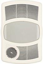 Broan 100 CFM Exhaust Bathroom Fan with Heater Bulb Type: Flourescent