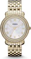 Fossil Women's ES3113 Stainless Steel Analog Mother-of-Pearl Dial Watch