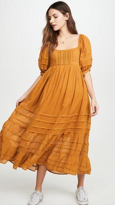 Free People Lets Be Friends Midi Dress