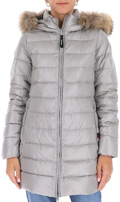 Woolrich Fur Trim Padded Jacket