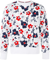 Thom Browne floral print sweatshirt - men - Cotton/Rayon - 0