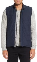 Michael Stars Men's Quilted Zip Vest