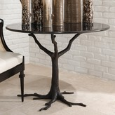 The Well Appointed House Global Views Nature's Faux Bois Dining Table with Granite Top