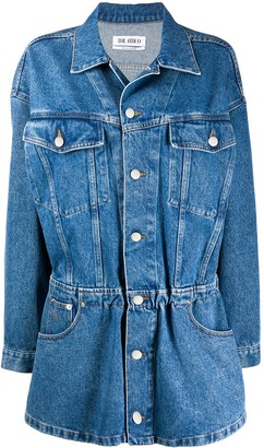 ATTICO The denim shirt dress