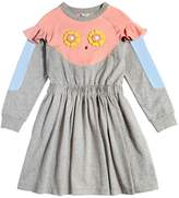 Fendi Pirochan Cotton Interlock Dress