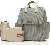 Babymel BM7096 Millie Diaper Bag, Stripe Navy, One Size by