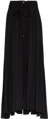 Ann Demeulemeester Button-Down Maxi Skirt