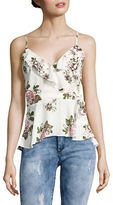 Collective Concepts Floral Peplum Top