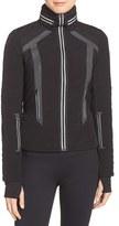 Blanc Noir Women's Hooded Water Resistant Jacket