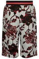 McQ Floral Print Sweatshorts