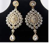 Glamorize Yourself High End alloy-based party-wear Elegant Indian Bali Jhumkas (Drop Earrings) Indian Bollywood Style Ethnic Traditional Vintage Jewelry Wedding Bridal Party Wear For Women
