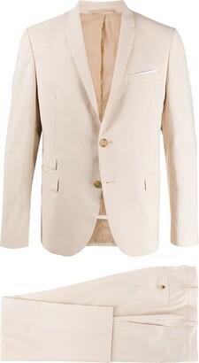 Neil Barrett Travel gabardine slim suit