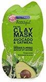 Freeman Feeling Beautiful Facial Clay Mask Avocado & Oatmeal 0.50 oz (Pack of 4)