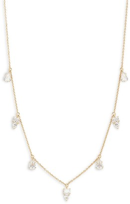 Adriana Orsini 18K Goldplated & Crystal Necklace