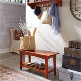 Asstd National Brand Shaker Cottage Storage Coat Hook with Bench