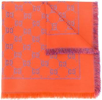 Gucci Kids GG lame shawl