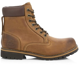 Timberland Rugged Waterproof Leather Combat Boots