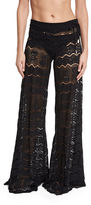 Letarte Wide-Leg Lace Coverup Pants
