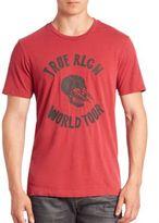 True Religion Skull Lightning Graphic Tee