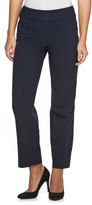 Croft & Barrow Petite Pull-On Straight-Leg Dress Pants
