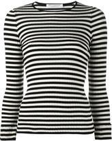 Philosophy Di Lorenzo Serafini - striped longsleeved T-shirt - women - Cotton - 40