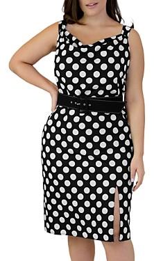Marée Pour Toi Dot Print Dress