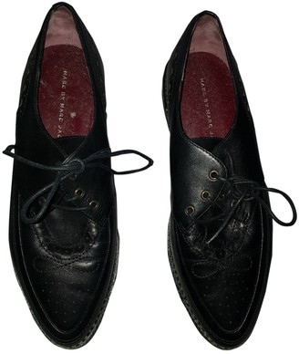 Marc by Marc Jacobs Black Leather Lace ups