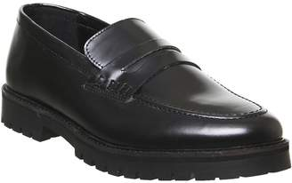 Office Clark Loafers Black Leather