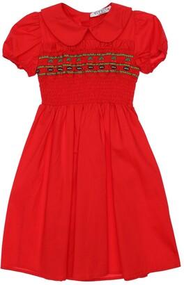 VIVETTA Stretch Cotton Poplin Dress