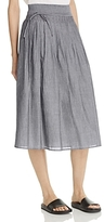Vince Skinny Stripe Wrap Skirt