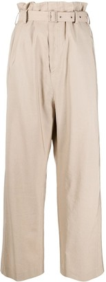 Low Classic Paperbag Waist Trousers