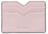 Mackage Wes Double Sided Leather Cardholder In Blush