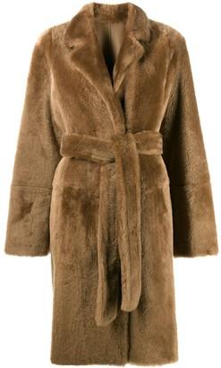 Yves Salomon Reversible Mid-Length Coat